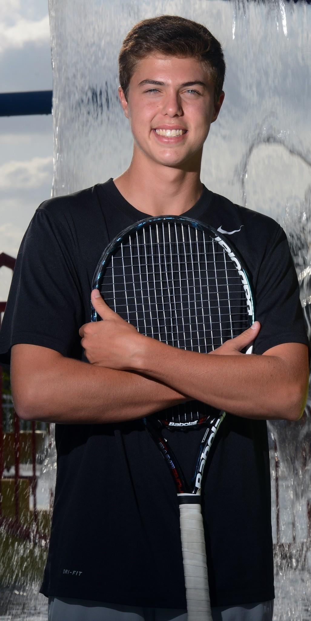 Dwyer's Drew Engel is the Palm Beach boys tennis Player of the Year