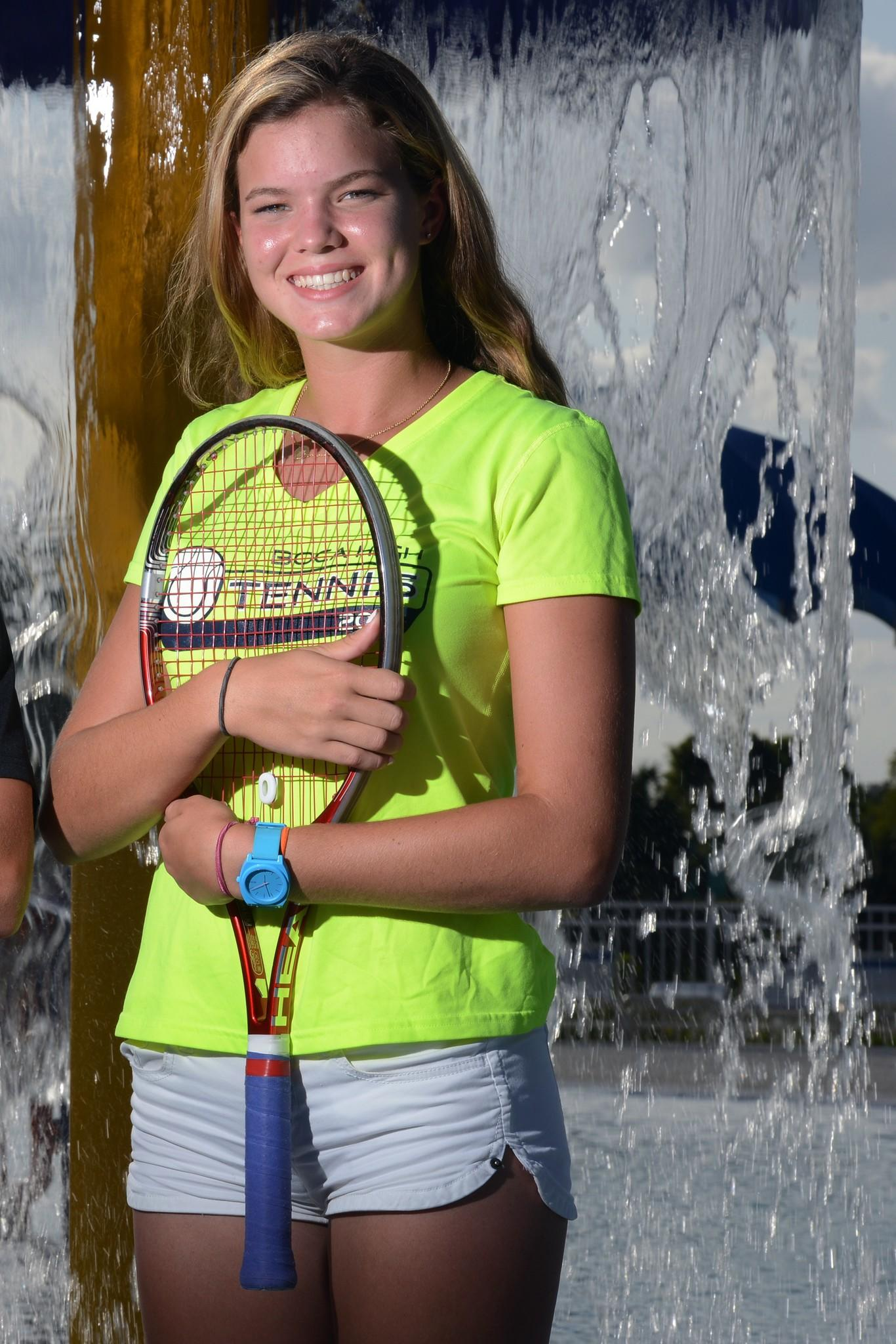 Boca Raton's Clare McKee is the Palm Beach girls tennis Player of the Year