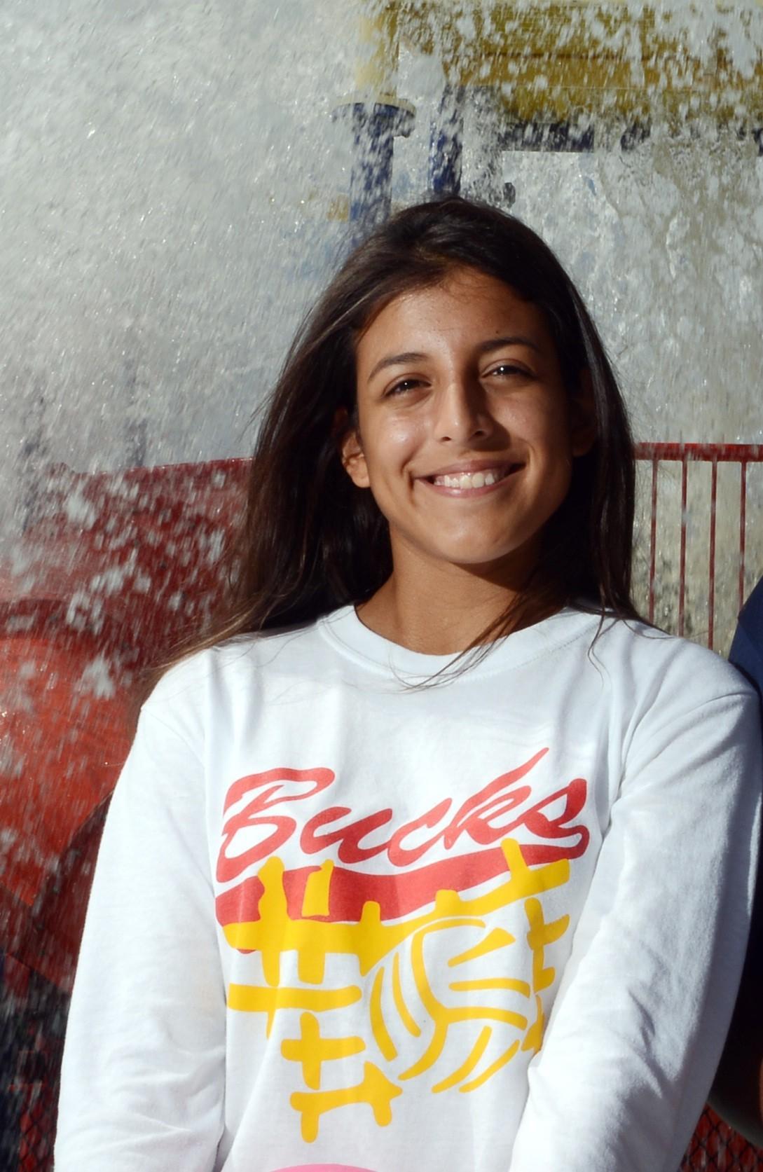 Deerfield Beach's Pamela Romero is the Broward girls water polo Player of the Year