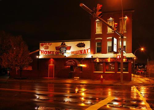 The Anchor Bar Restaurant, home of the original buffalo wing, is seen in Buffalo, New York November 19, 2009.