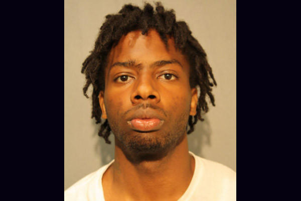 Gerald S. Preacely Jr., 22, charged with attempted murder in an attackin which police officers saw him shooting at a group Tuesday on the South Side.