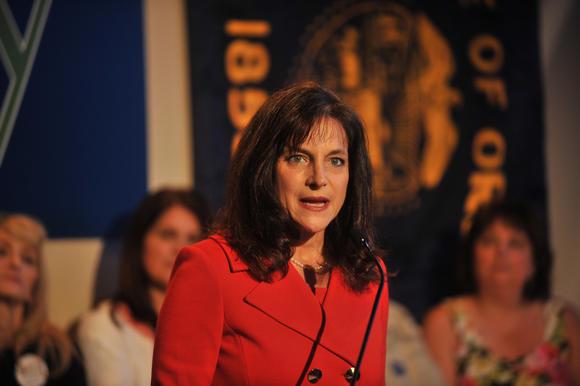 Republican Oregon U.S. Senate candidate Monica Wehby