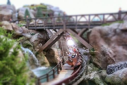 """<p>OK, so a day at Disney isn't cheap, but the Magic Kingdom's new Seven Dwarfs Mine Train (opened in 2014) at New Fantasyland gives little thrill seekers a fourth option for roller coasters at the park along with Space Mountain, Big Thunder Mountain Railroad and The Barnstormer. The queue line is pretty cool too, for those who don't use the FastPass+ on the ride. <a href=""""http://www.disneyworld.com"""">www.disneyworld.com</a></p>"""