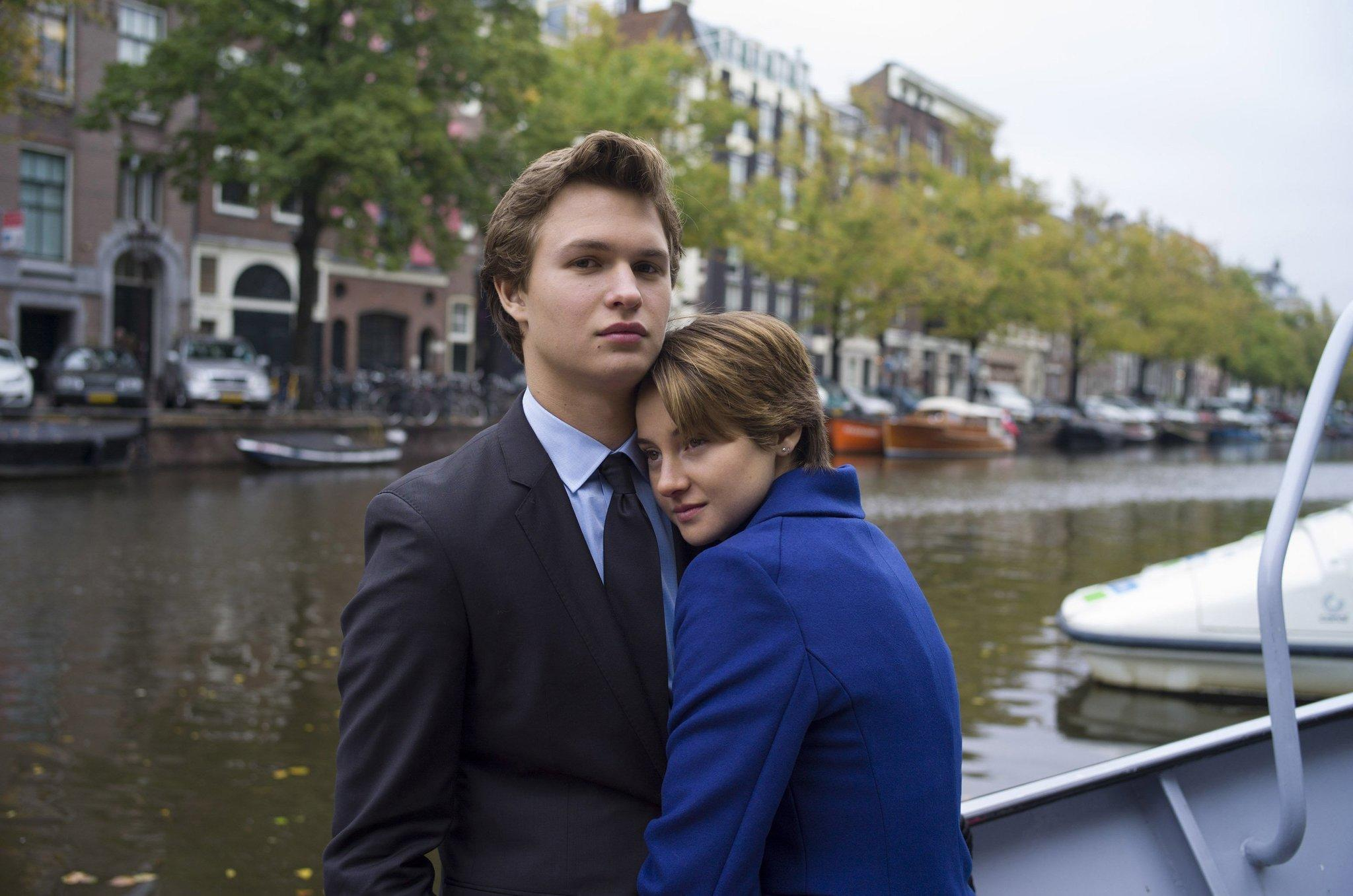 "Ansel Elgort and Shailene Woodley star in ""The Fault in Our Stars."""