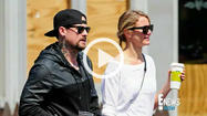Cameron Diaz and Benji Madden Hold Hands