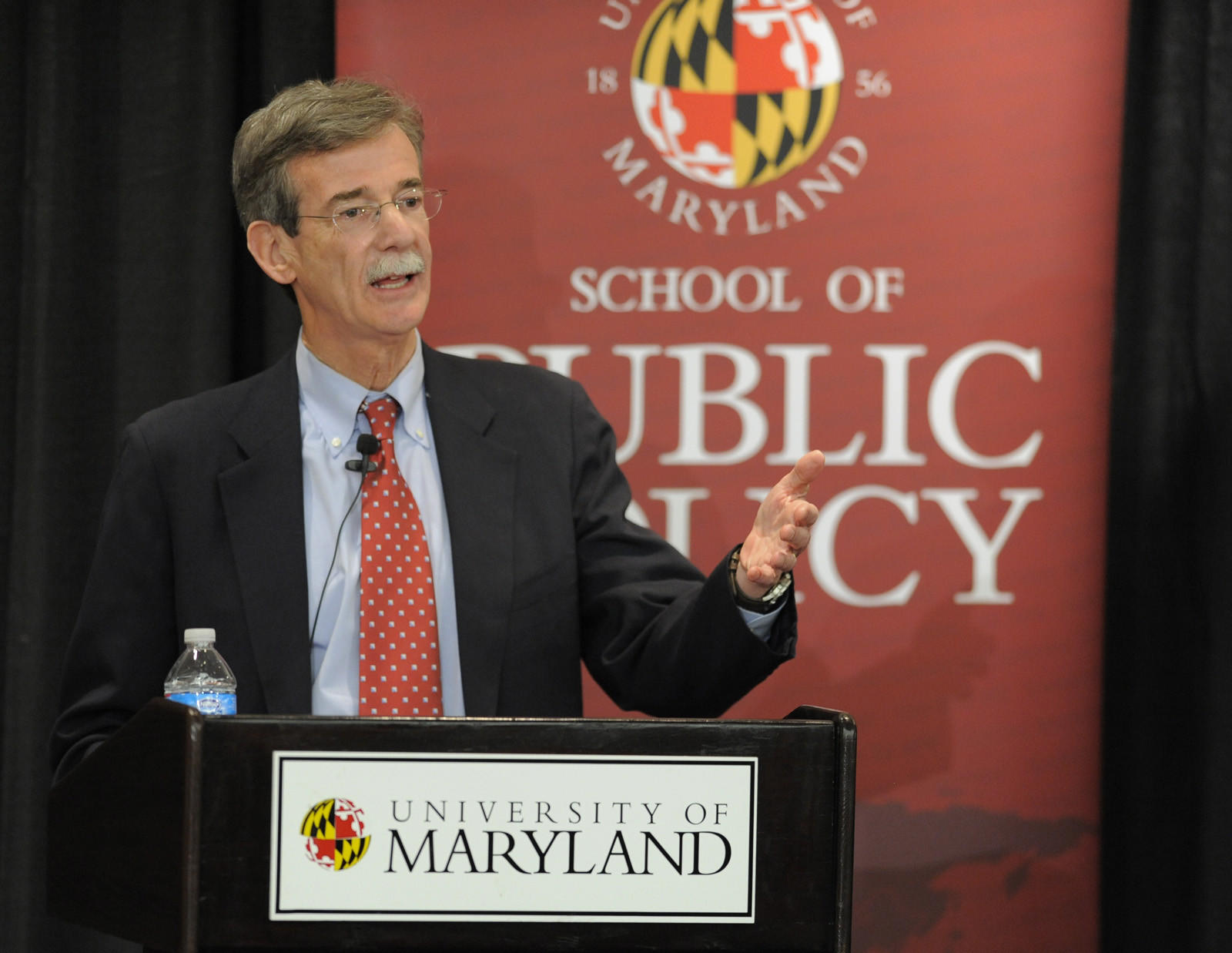 Senator Brian E. Frosh speaks at the Maryland Attorney General debate.
