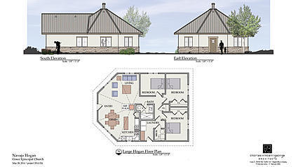Video: New home to be built in style of Navajo hogan - The Doings ...
