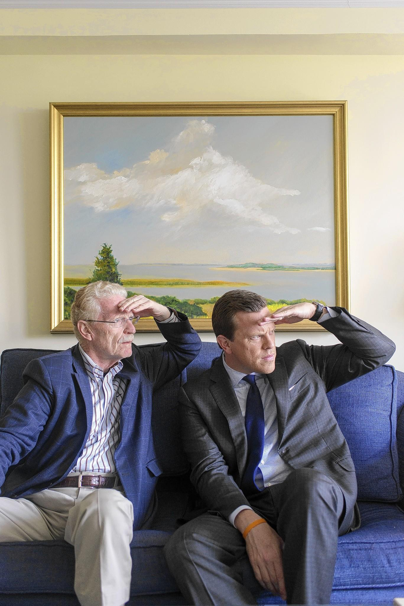 """Bill and Willie Geist chat with Printers Row Journal about their connection to Illinois and their new book, """"Good Talk, Dad."""""""