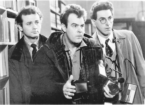 "Harold Ramis played Dr. Egon Spengler in the first two ""Ghostbusters"" films (released in 1984 and 1989)."