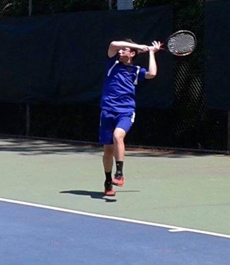 After leading his Menchville team into the state Group 5A semifinals, sophomore Austen Delnicki earned his way into the state singles tournament, too.