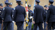 Firefighter who died during training remembered during services