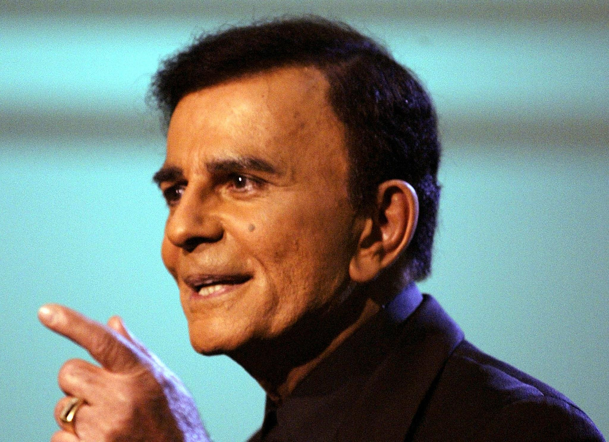 Television and radio personality Casey Kasem in critical condition in Washington hospital, June 5, 2014.