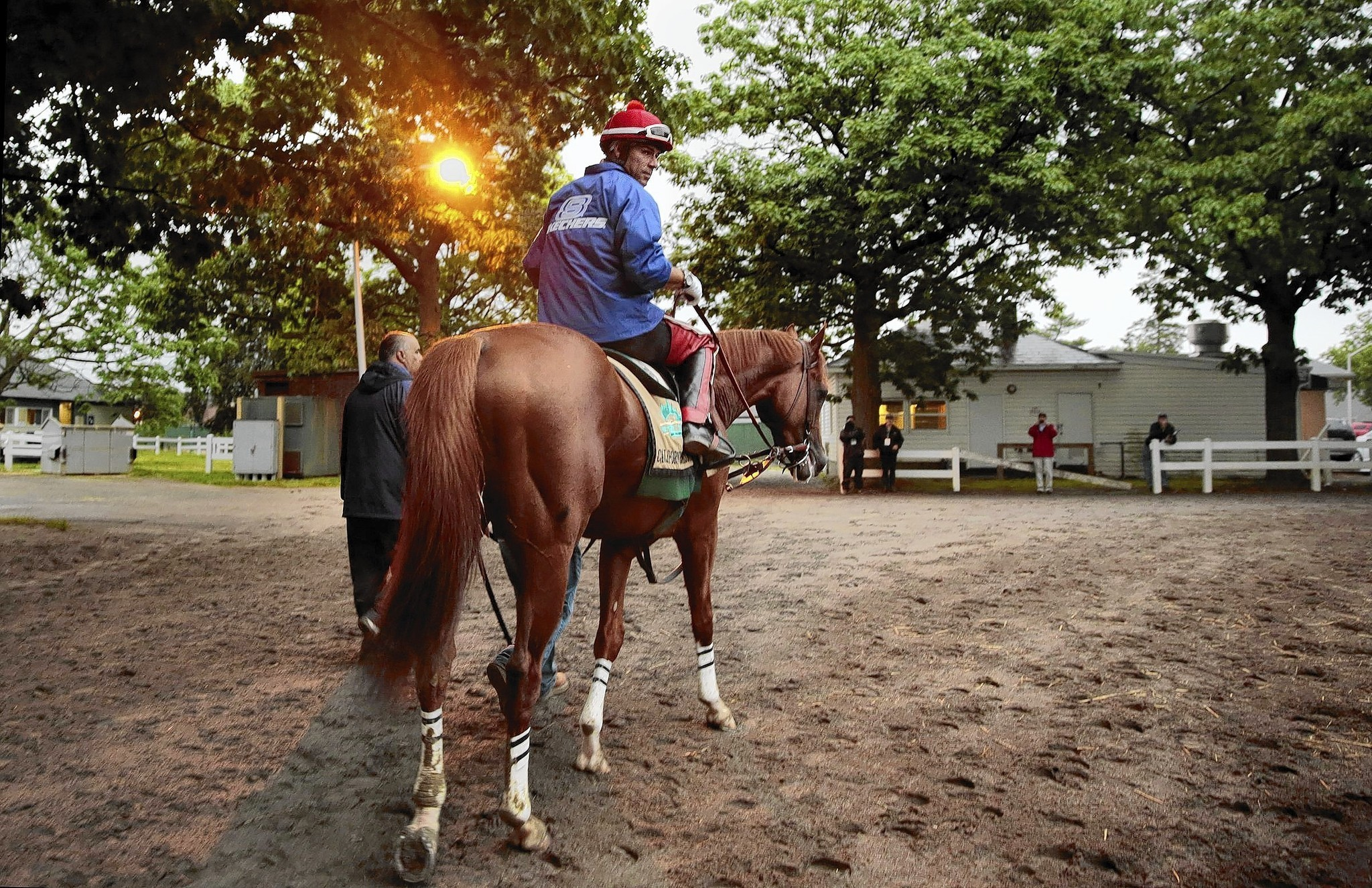 Belmont: California Chrome's run at history has hometown breathless