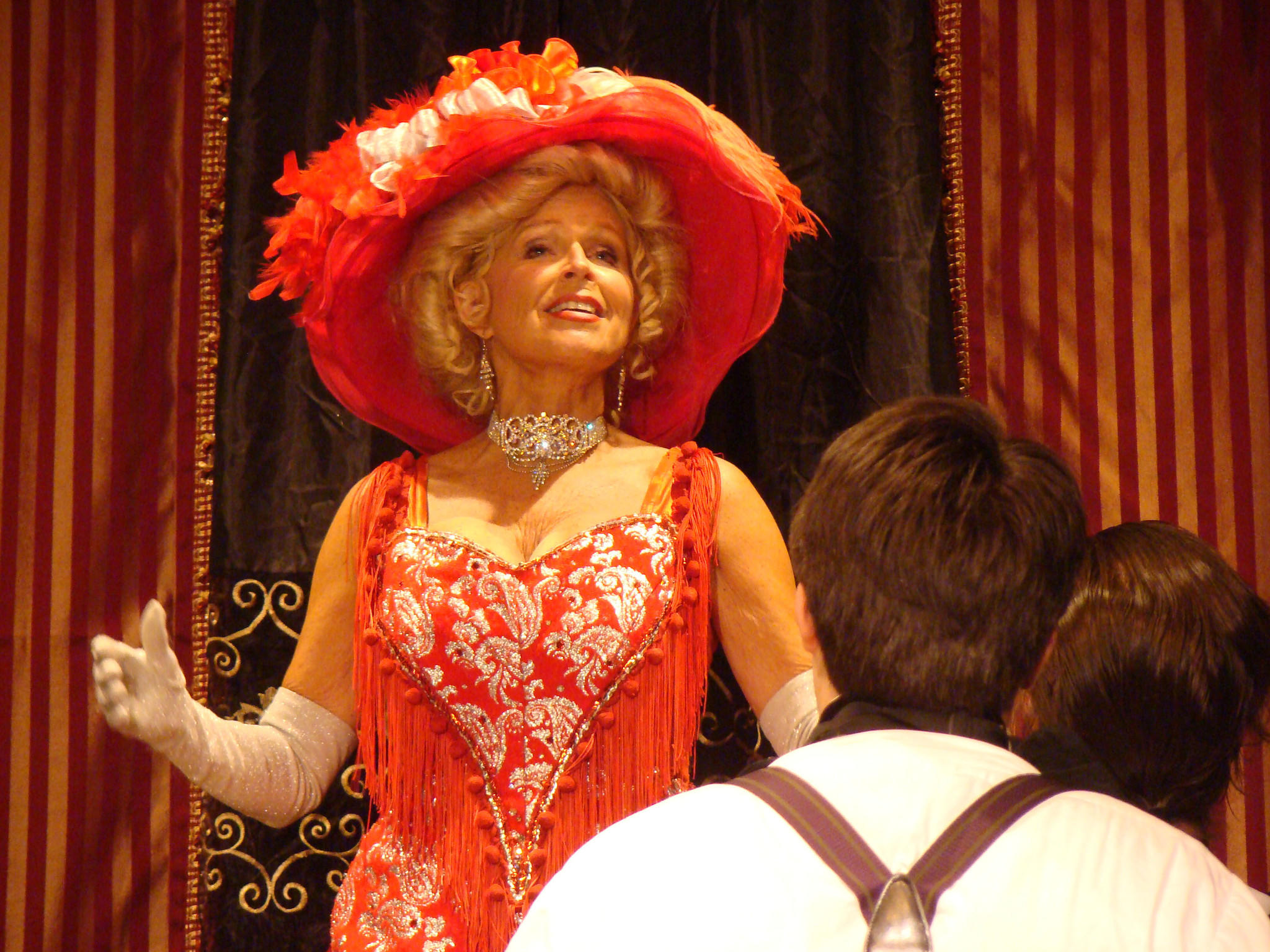 """Nori Morton as Dolly in the 2nd Star production of """"Hello, Dolly!"""" now playing at Bowie Playhouse."""