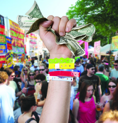 Chicago street festival donations are declining, sources say.