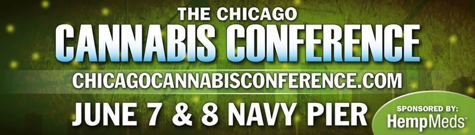 Chicago Cannabis Conference billboard.