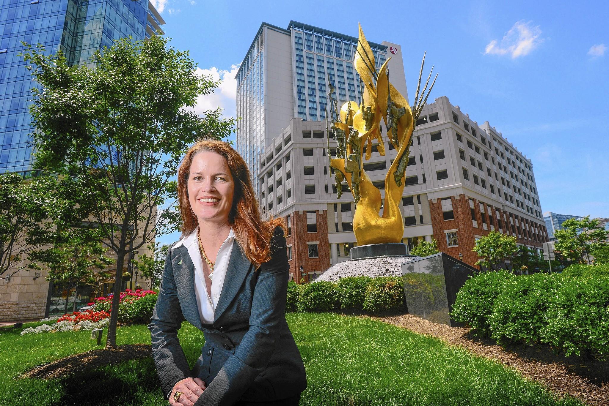 Kim Martini is director of business development for Armada Hoffler.