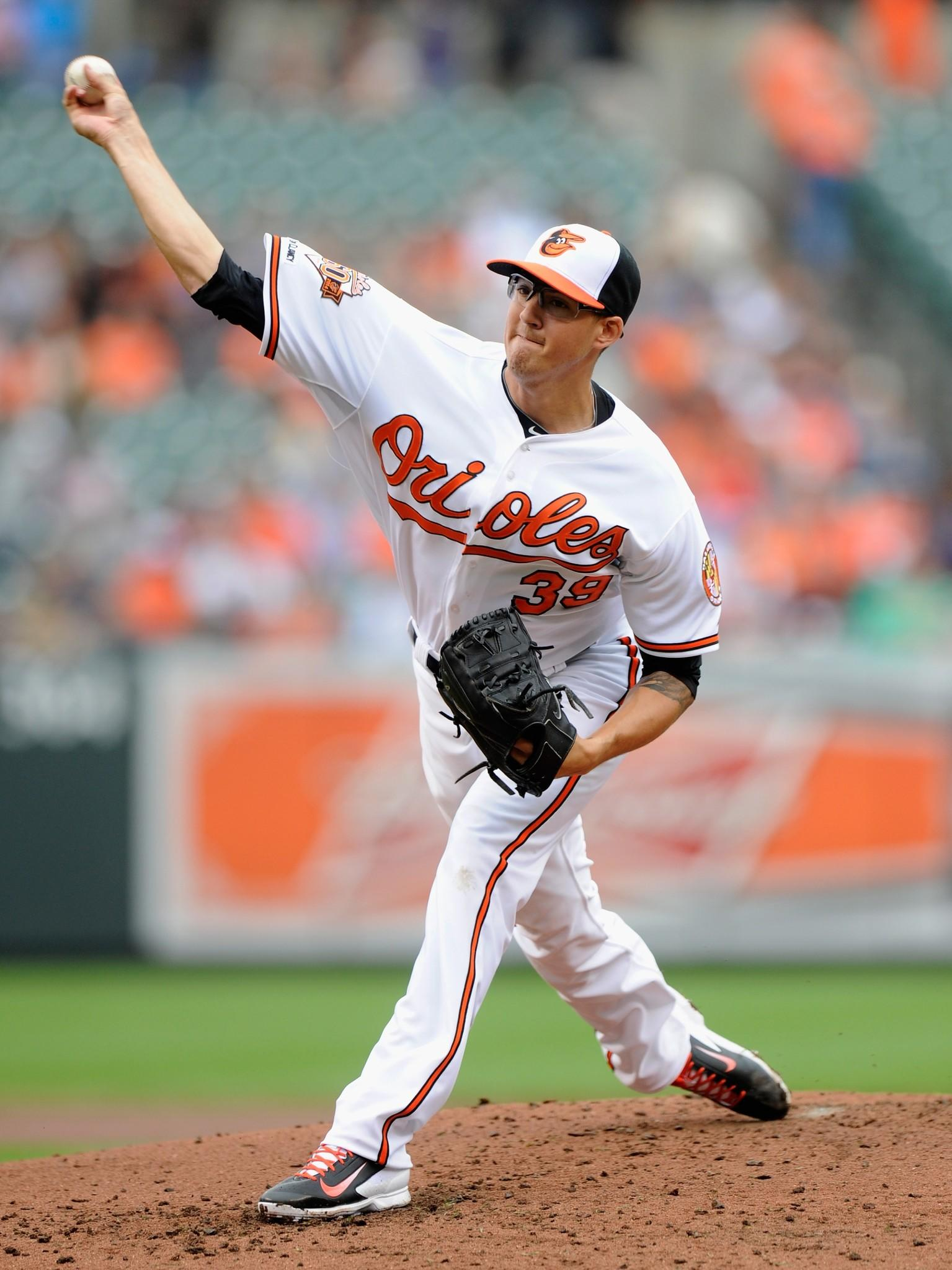 Kevin Gausman will start for the Orioles on Saturday night against the Oakland Athletics.