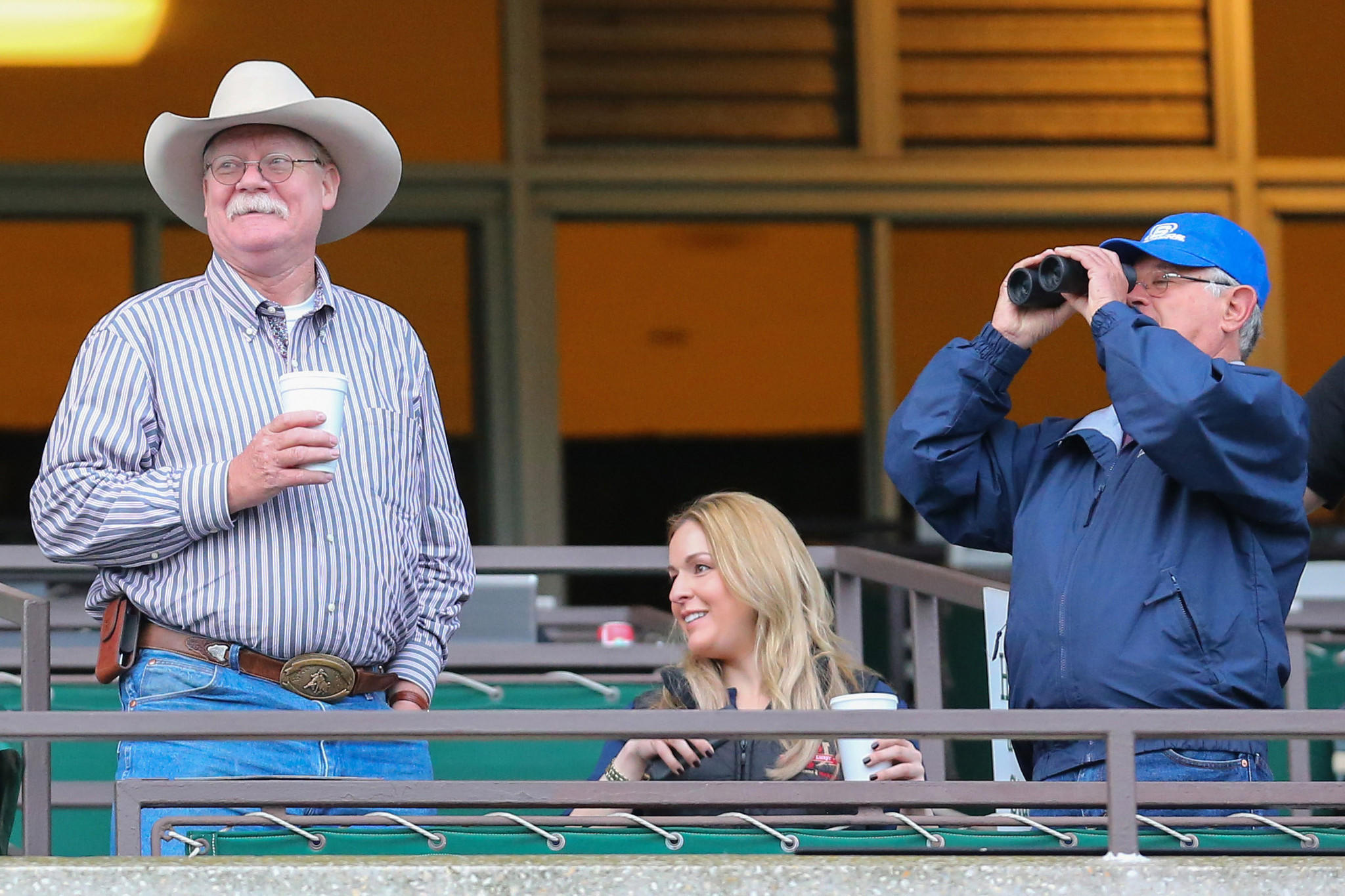 California Chrome co-owner Steve Coburn (left) and trainer Art Sherman (right) are relative newcomers to the Triple Crown scene.