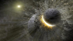 Related story: Apollo rocks hint at Moon's violent birth after collision on Earth
