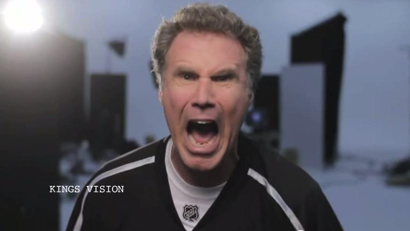 Kings Place Will Ferrell's 'Go Kings Go!' Video In Times Square