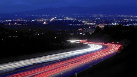 Traffic on the 405 Freeway