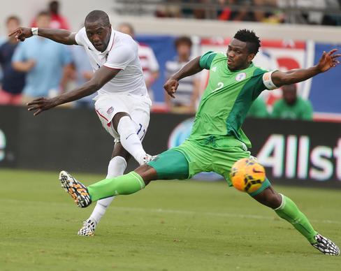 usa soccer team  Yobo (2) during the