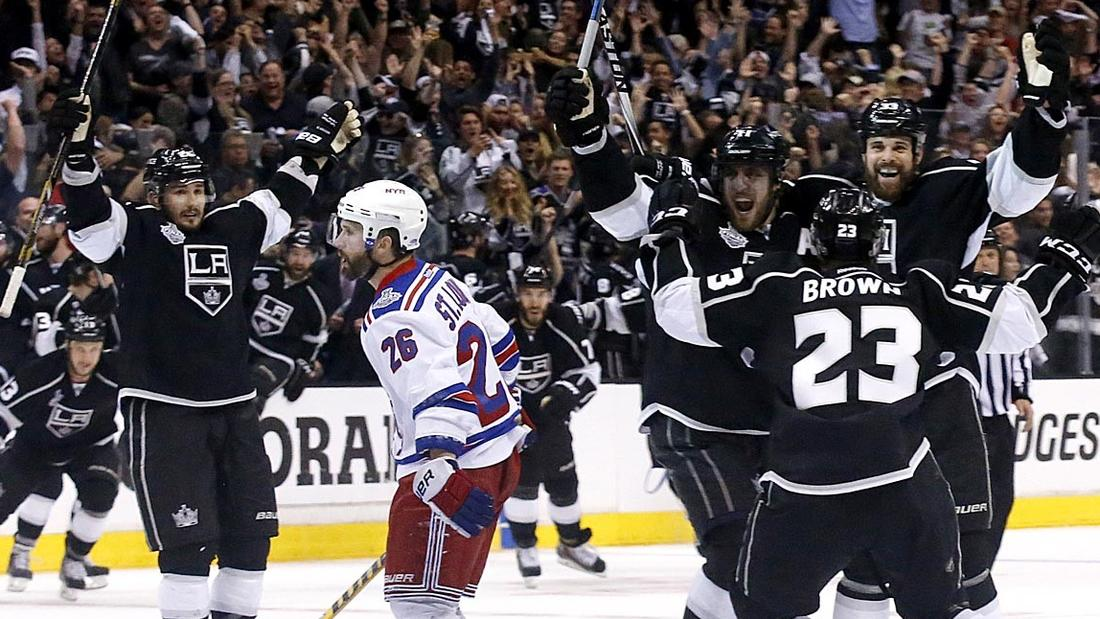 Kings Again Dig Out Of A Hole To Beat Rangers In 2 OTs, 5-4: Can Anything Quite Top This Topsy-turvy Postseason For Nerveless Kings?