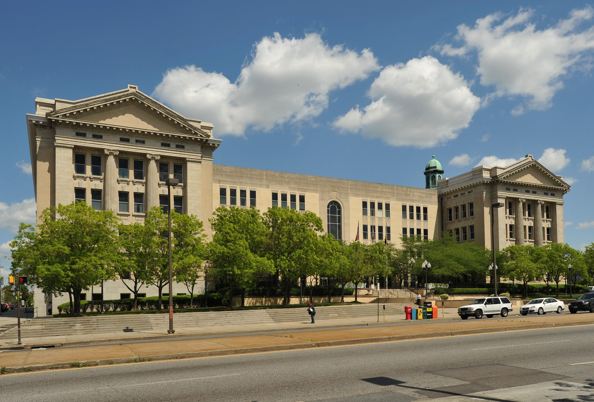 The city schools headquarters is shown in this file photo.