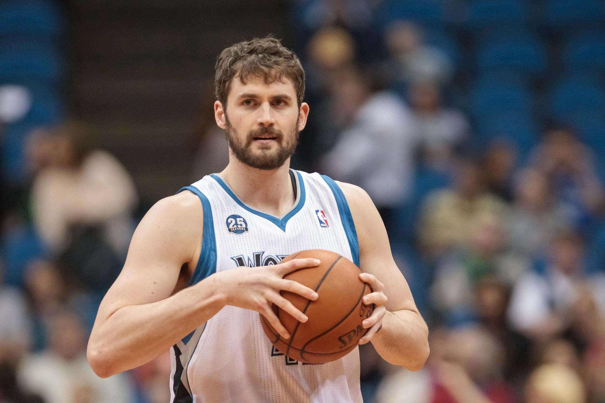 Timberwolves forward Kevin Love can become a free agent after next season.