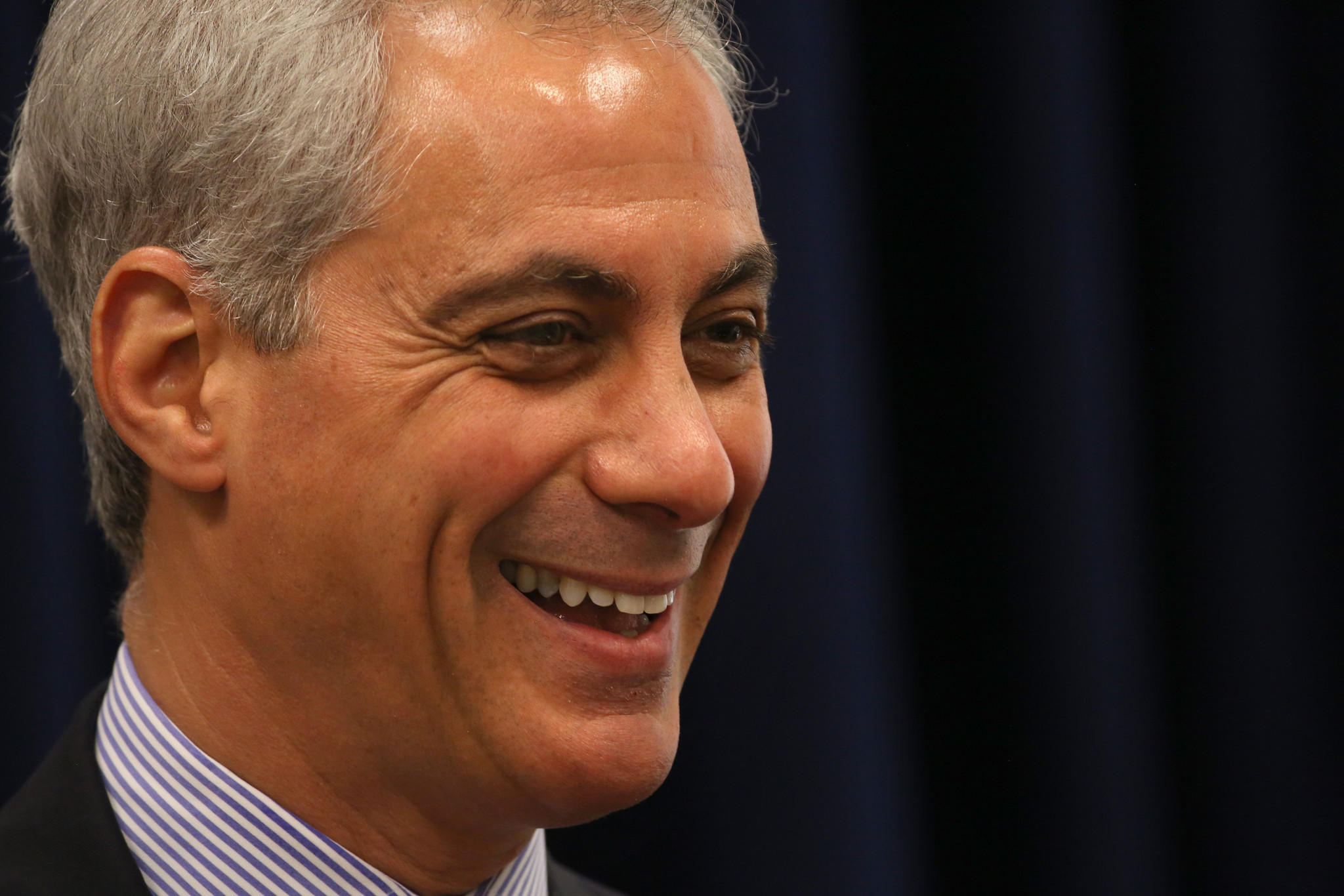 Mayor Emanuel at a Chicago City Council meeting last month.