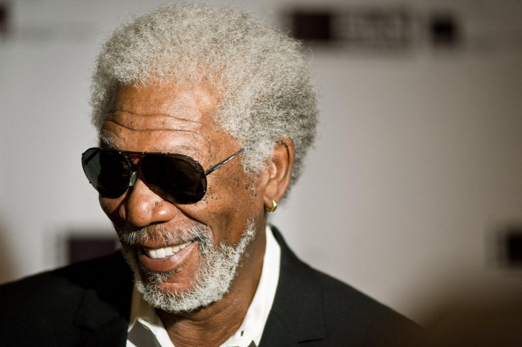 Actor Morgan Freeman is honored by the Gene Siskel Film Center at the Ritz Carlton hotel June 7, 2014.
