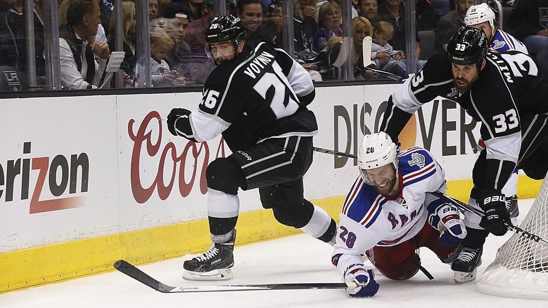 Kings Battling Rangers And, Perhaps, Fatigue In Stanley Cup Final