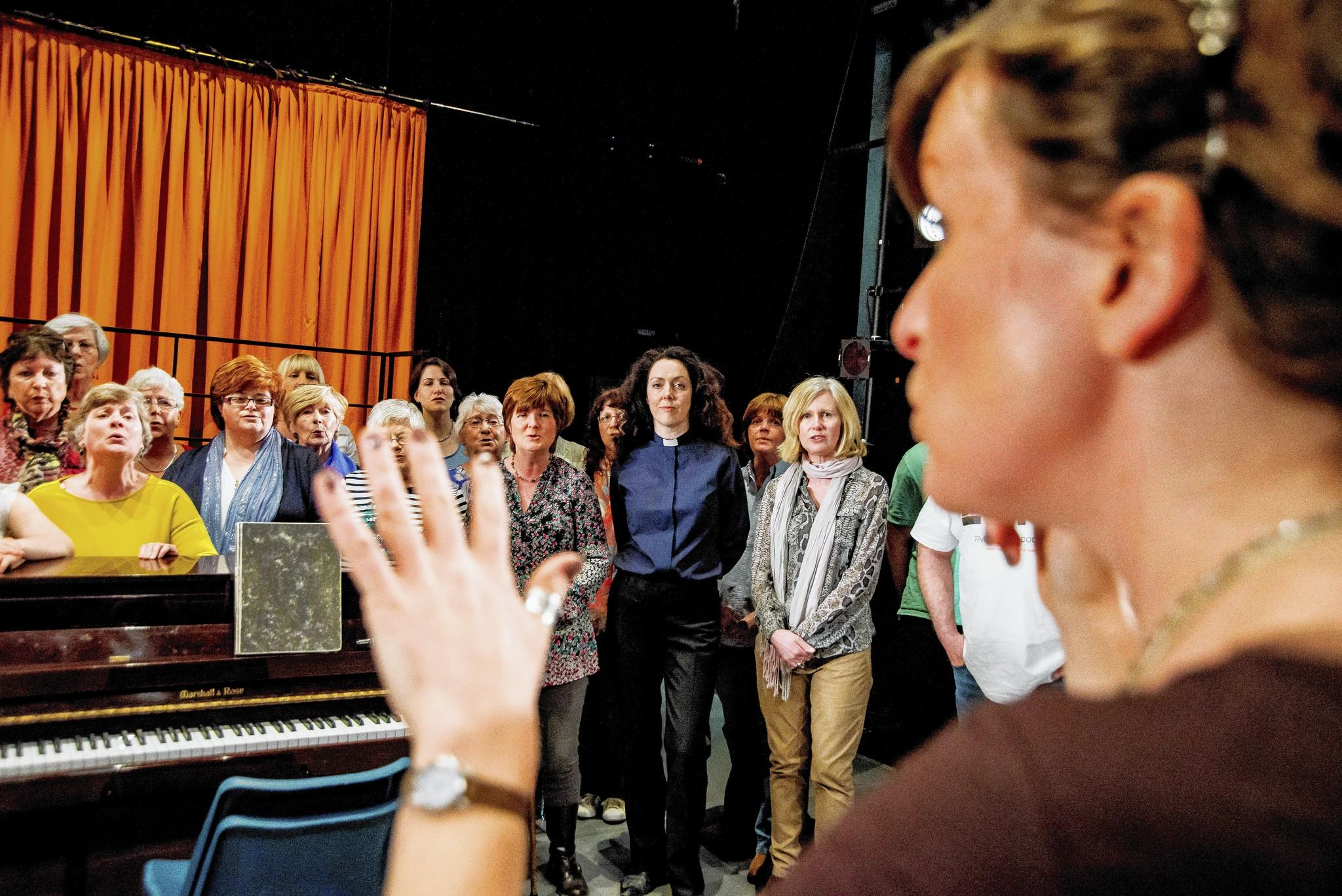 "Different community choirs are used for each performance of ""The Events."""