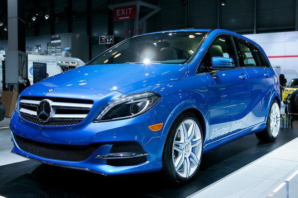 Auto review 2015 mercedes benz b class electric drive for 2015 mercedes benz b class electric drive
