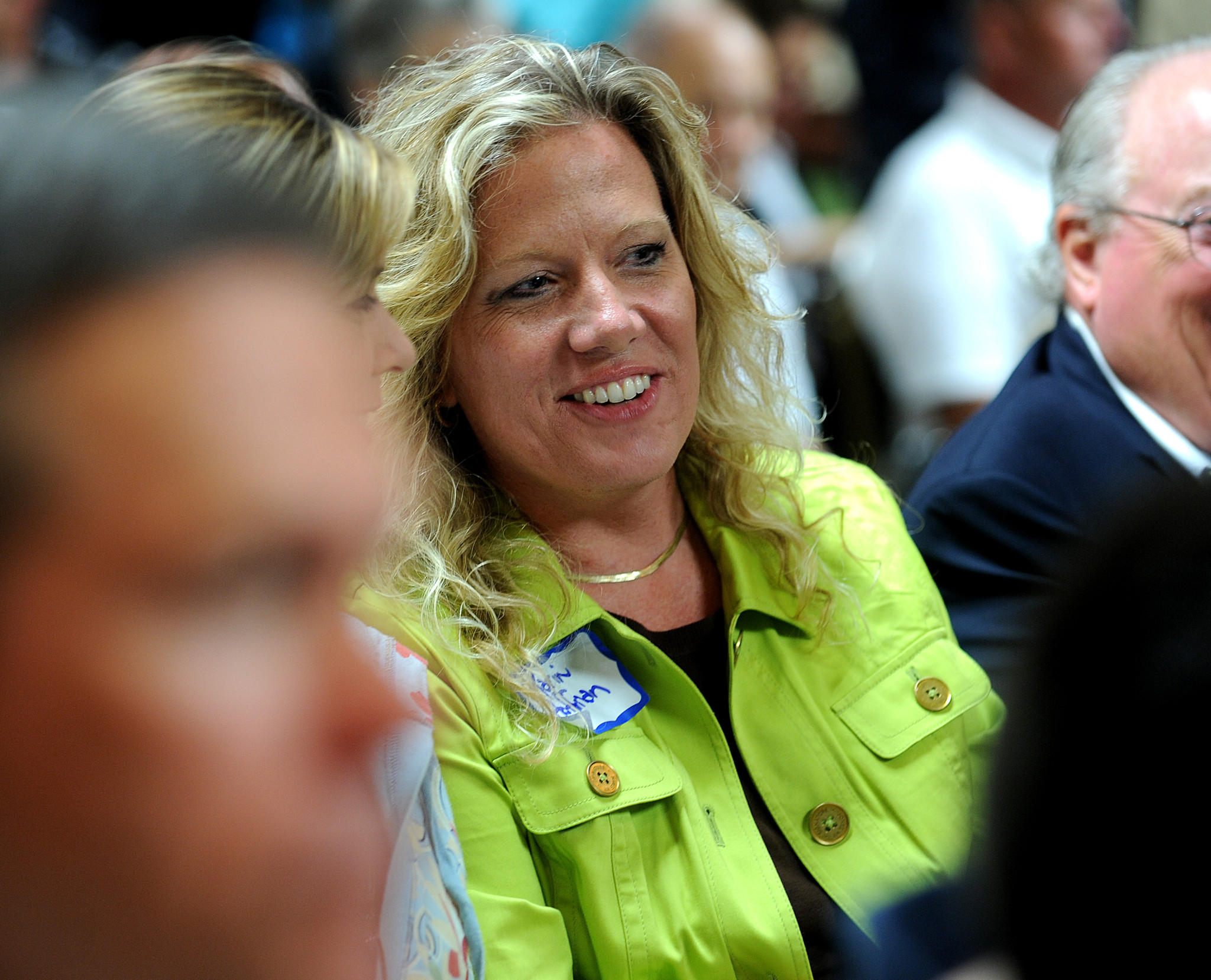 Karin Hoffman, a candidate from the tea party movement was hoping to take over the chairmanship of the Broward Republican Party in 2010, but Cindy Guerra was voted the new chair. Carline Jean, Sun Sentinel