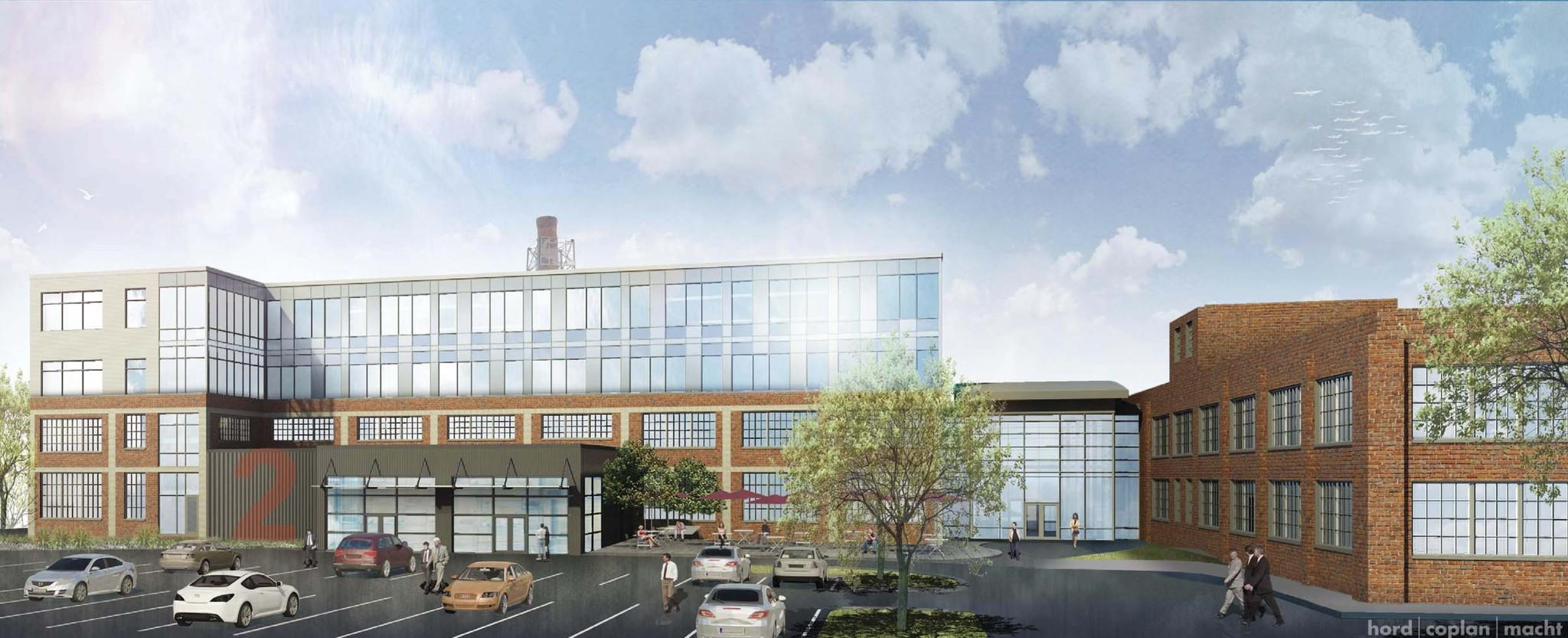 McHenry Row - Fort Ave. renderings of the new MAIF office space. 28 Walker | hord | coplan | macht
