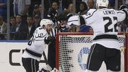 Stanley Cup notes: Kings center Mike Richards gets on (score)board
