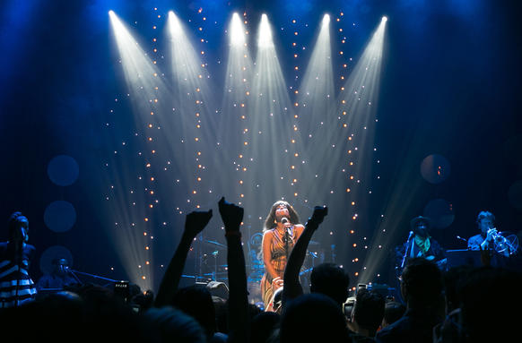 Kelis performs at the Park West.