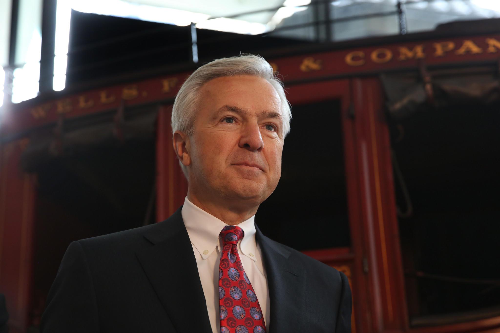 Wells Fargo CEO John Stumpf.