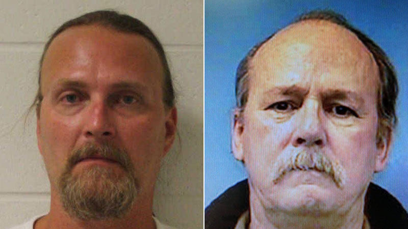 Thomas Malinka (left) was charged with murder in the death of his neighbor, John Deveau (right).