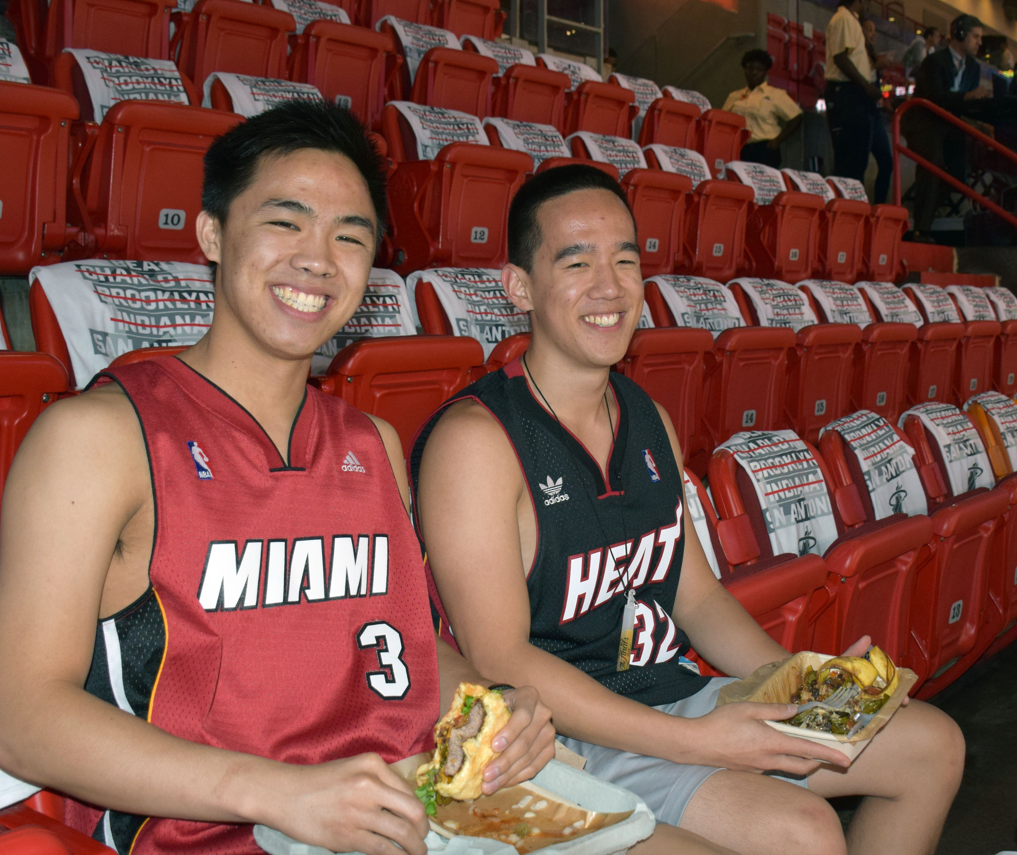 Heat fans during the NBA Finals - Heat Fans at Game 3