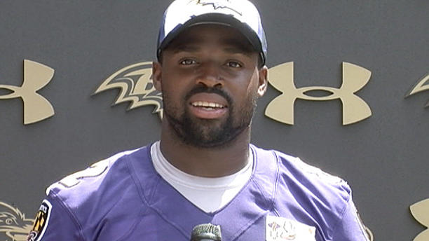 Torrey Smith And Steve Smith Ravens' Torrey Smith on Kubiak