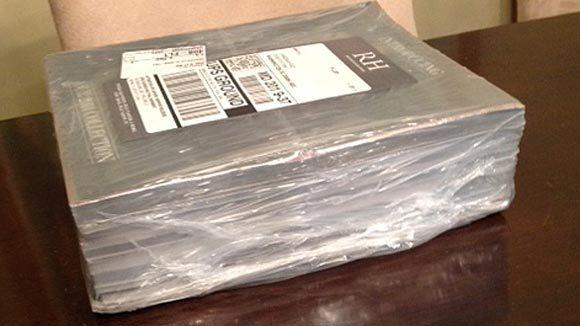 The Restoration Hardware 2014 catalog collection weighed in at 3,000 pages and 17 pounds.