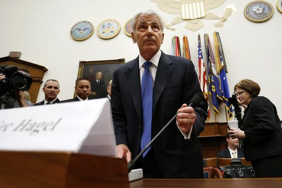 Hagel testifies before a House committee on the Bergdahl prisoner swap