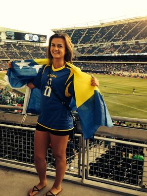 <p><strong>Alma Colpa, 23, Ravenswood</strong></p>