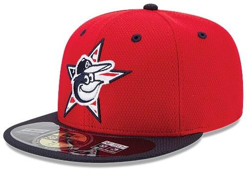 MLB recently unveiled the 30 Fourth of July hats for the upcoming season, including this red Orioles cap.