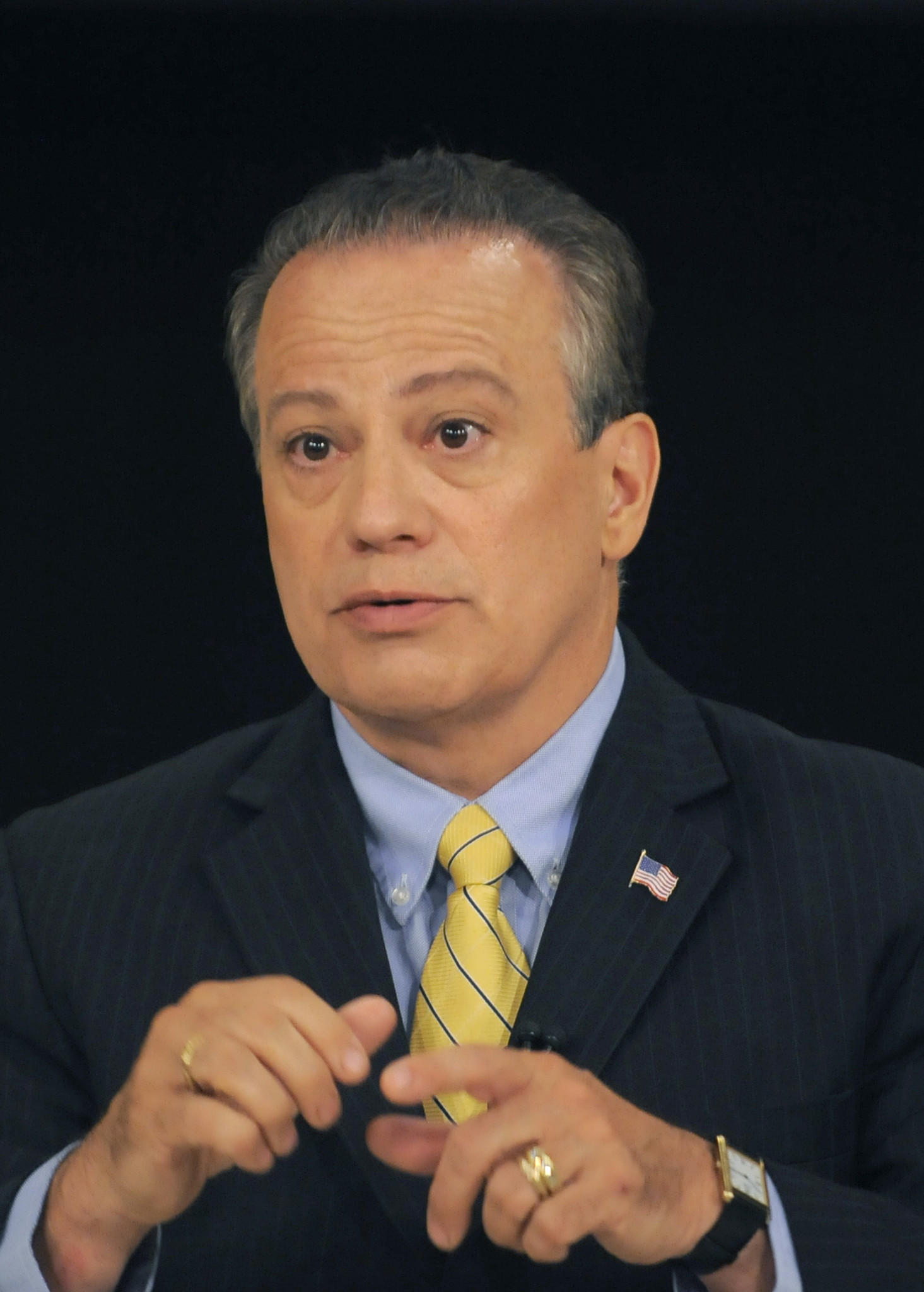 Ron George is a Republican running for Governor of Maryland debate.