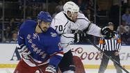 Kings' Tanner Pearson gives it his best shots in Game 4 loss to Rangers