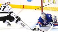 Rangers' Henrik Lundqvist makes do-or-die stand to stop Kings, 2-1